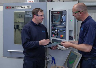 DS Machining Services just gets on with it – with the help of XYZ