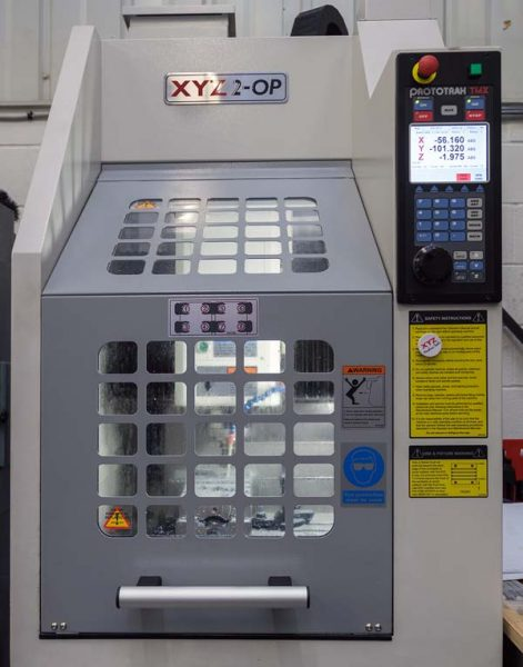 Lightning Machining XYZ 2-OP