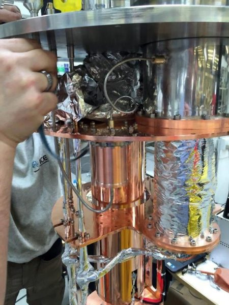 ICEoxford Cryogenic sub-assembly