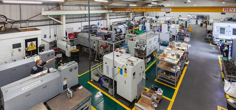 D & D Engineering - Machine-Shop