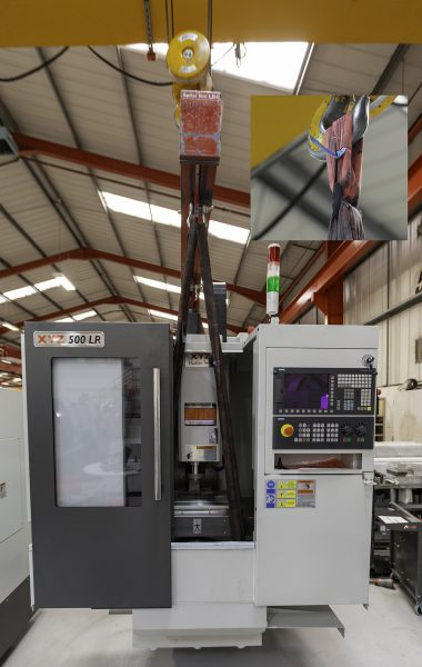 3D Printing lifting demo (MR)