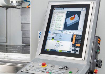 Control choice for XYZ heavy-duty vertical machining centres