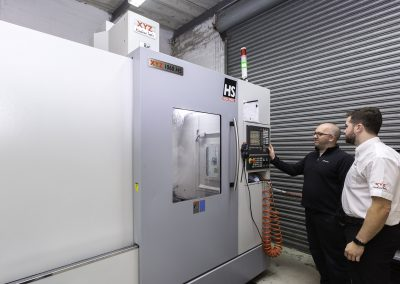 Specialist machine builder hatches plans for growth with XYZ VMCs