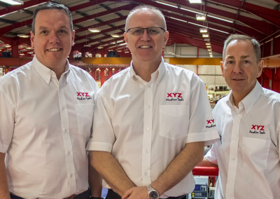 XYZ Machine Tools makes strategic management changes