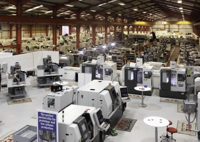 Demand leads to expansion for XYZ Machine Tools
