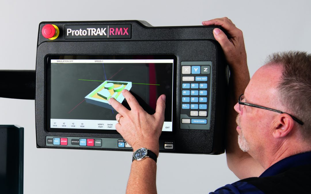 RMX ProtoTRAK touchscreen