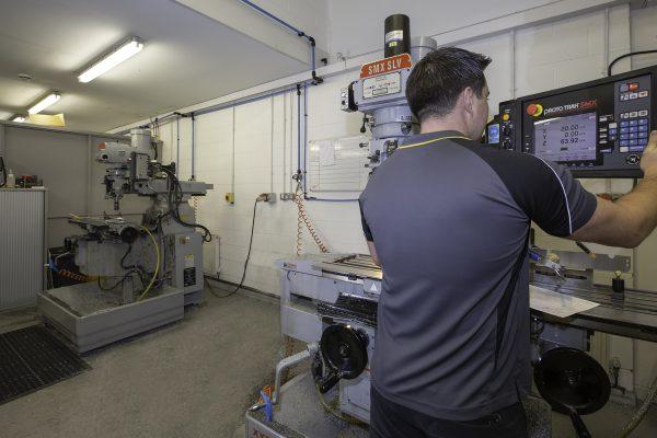 ES Precision-ProtoTRAK Mills