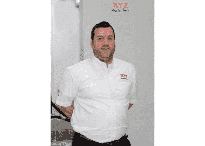 Role reversal for Ben as he joins XYZ Machine Tools in sales position