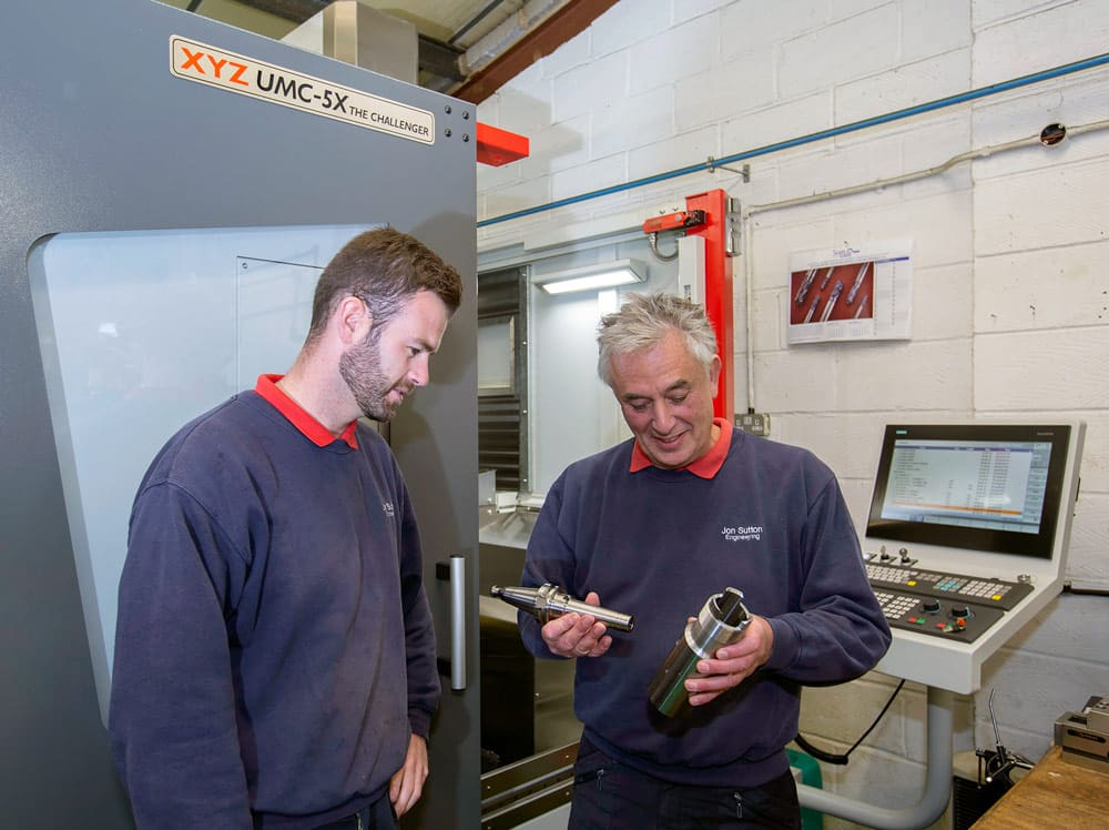 Five-axis investment creates new opportunities for forward thinking sub-contractor