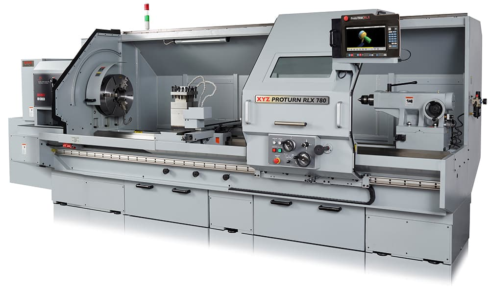 Large capacity turning now available with ProtoTRAK control