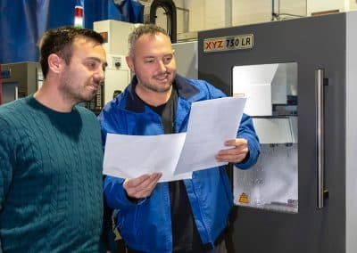 Carney UK chooses XYZ for in-house machining capability