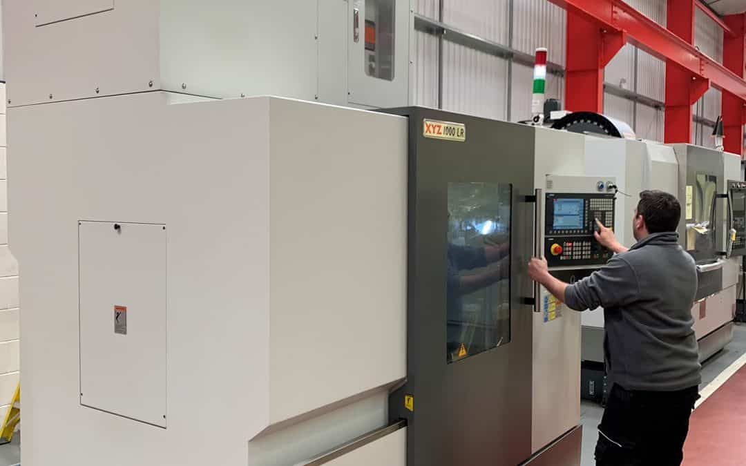 XYZ Machine Tools meets customer needs with extended z-axis machining centre