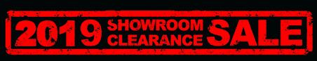 2019 Showroom Clearance