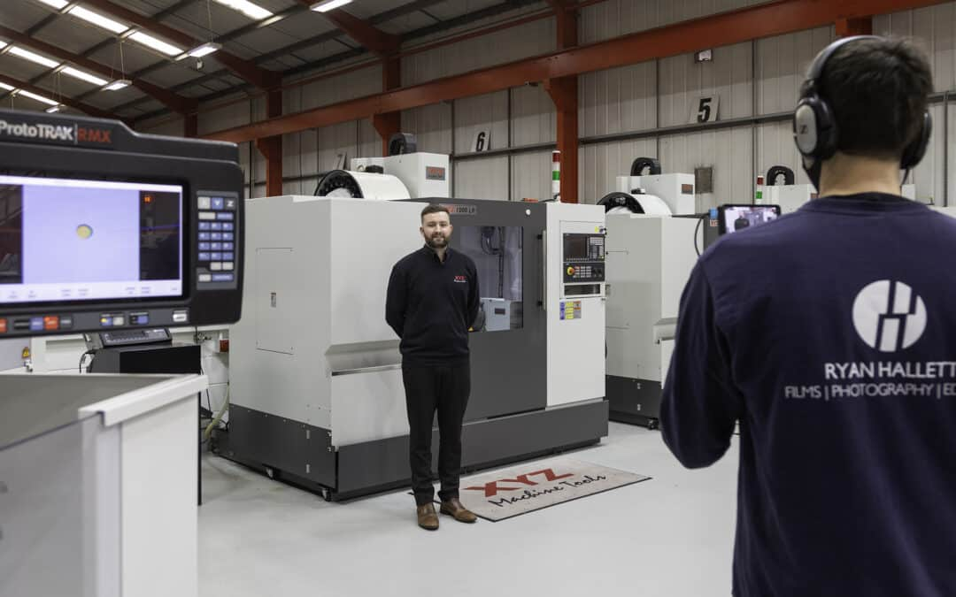 From sales to service –  XYZ Machine Tools has a video for that