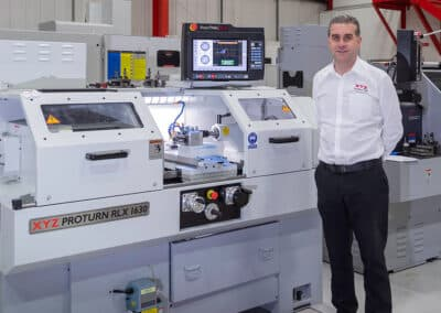 Manufacturing specialist joins XYZ Machine Tools as Commercial Manager