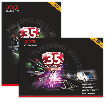 New catalogues reflect growth in machine choice from XYZ Machine Tools