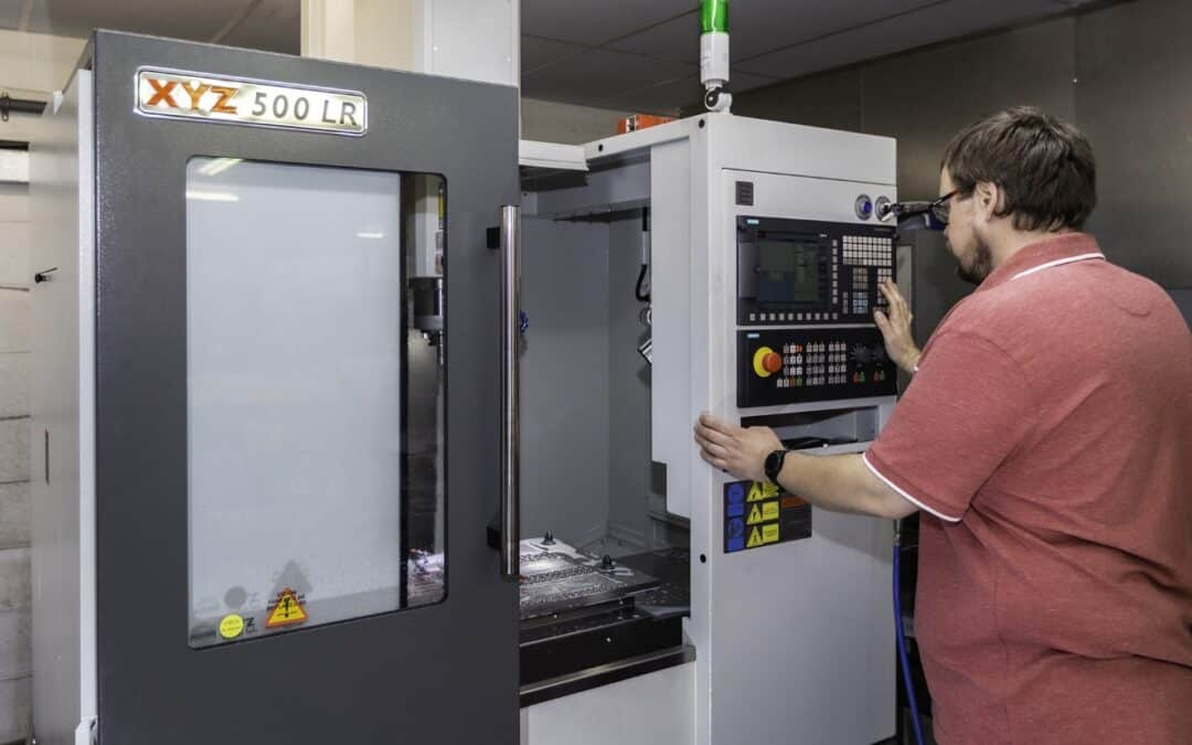 Machining progression with XYZ pays dividends for Holt Broadcast Services
