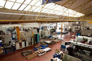 Chirton Engineering Shopfloor
