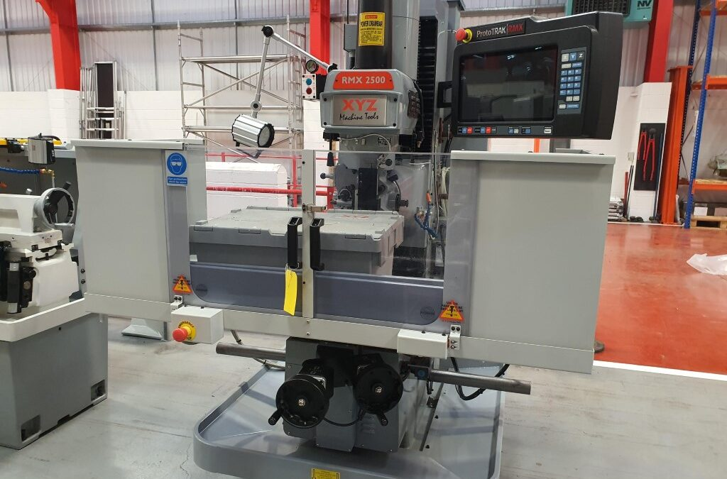 Used RMX 2500 Bed Mill