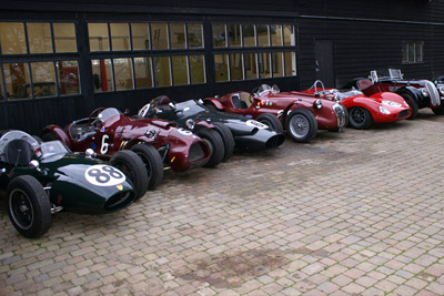Hawker Restoration Grand Prix Cars