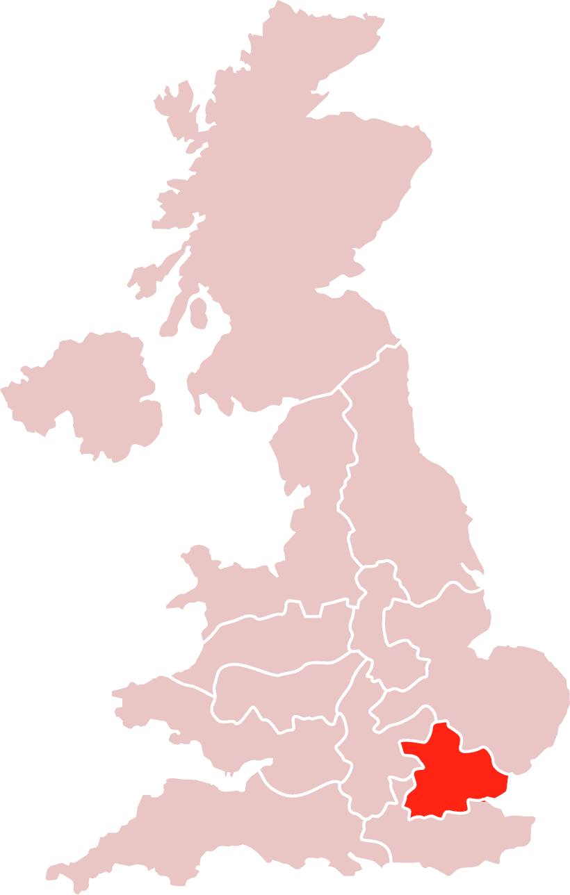 Map South East