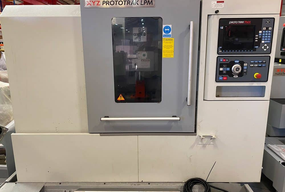 Used XYZ LPM Vertical Machining Centre