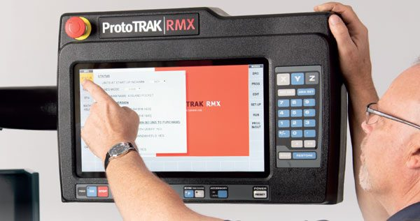 ProtoTRAK RMX Control in use