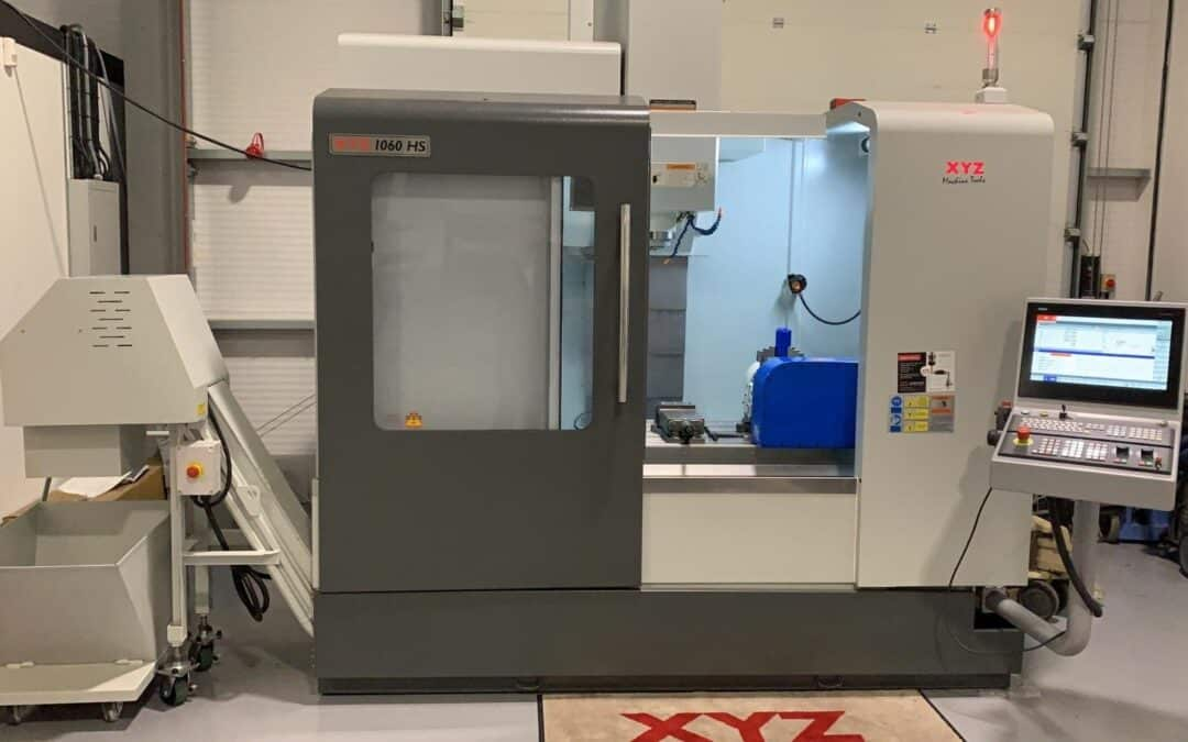 Ex Demo XYZ 1060 HS VMC fitted with Kitagawa 5 Axis Table