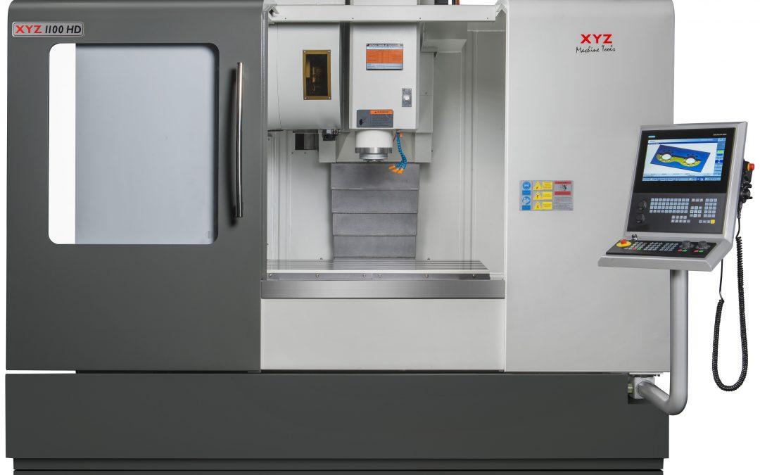 New XYZ 1100 HD VMC with Heidenhain Control