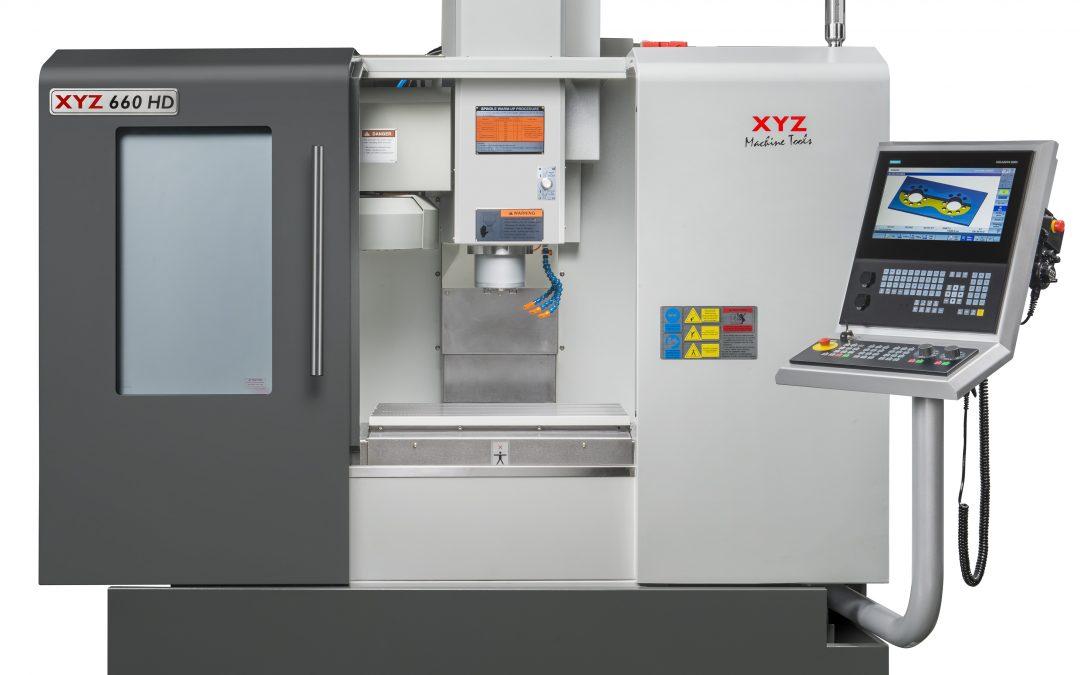 New XYZ 660 HD VMC with Heidenhain Control