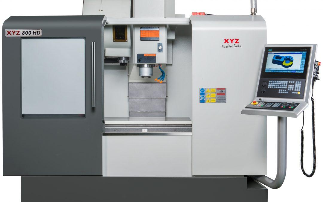 New XYZ 800 HD VMC with Heidenhain Control