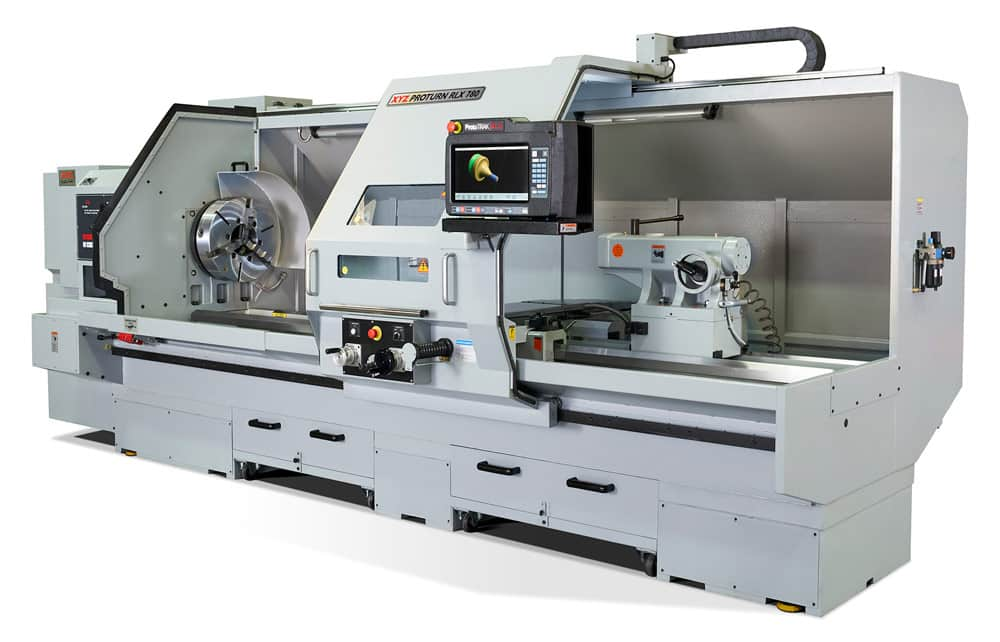 XYZ Machine Tools updates its RLX 780 lathe to broaden its appeal