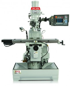 XYZ SMX 3000 Turret Mill