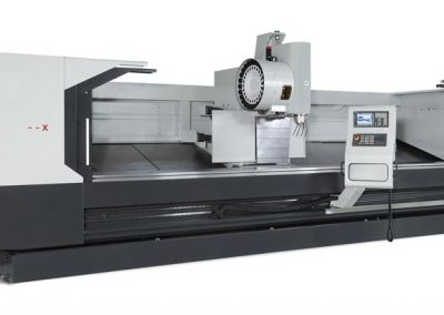 XYZ Travelling column machines offer affordable large capacity