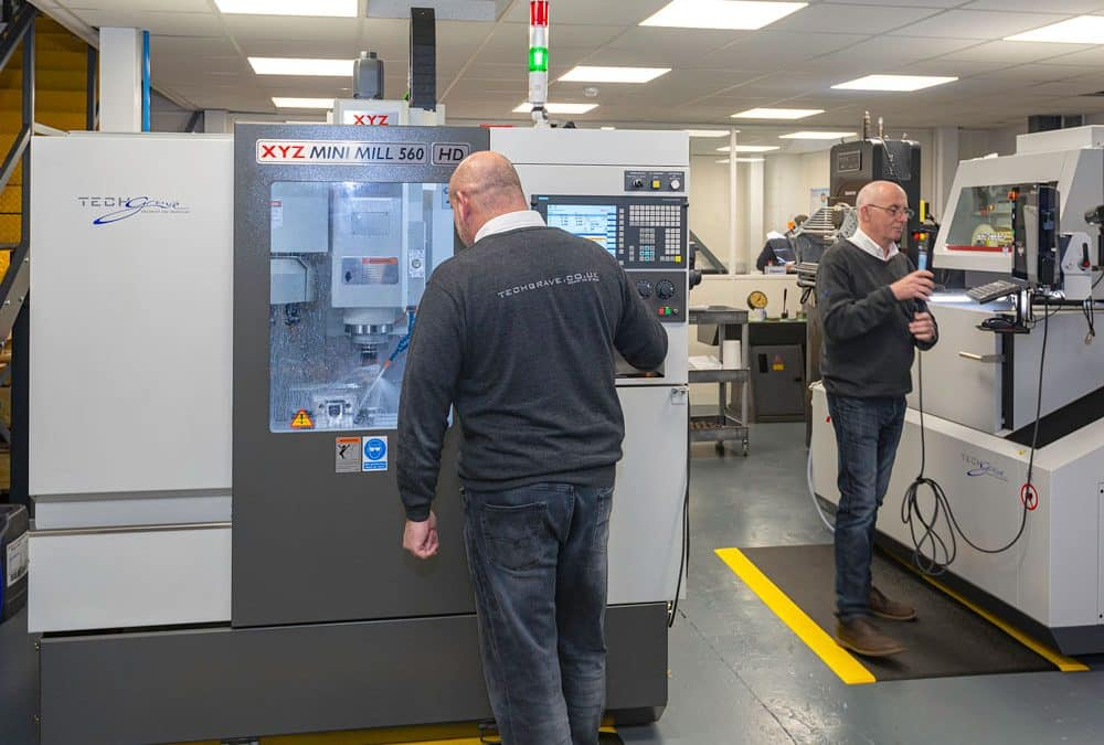 A machining need is turned into business opportunity at Techgrave