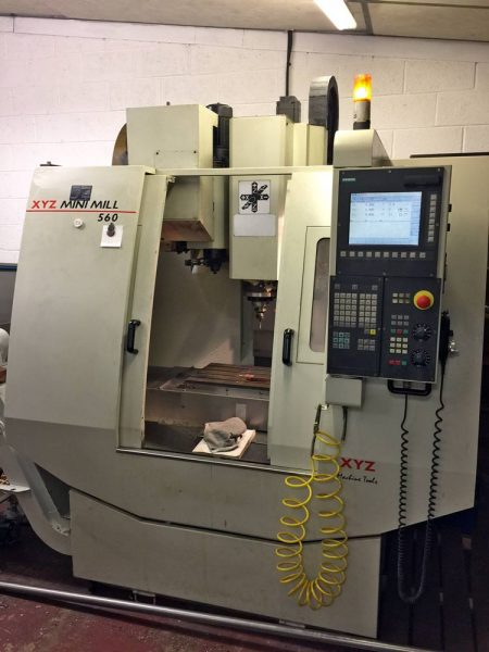Used XYZ560-Mini-Mill