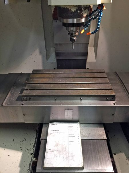 Used XYZ560-Mini-Mill
