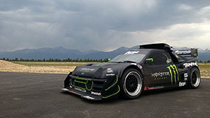 Liam Dorans RS200 Pikes Peak Car