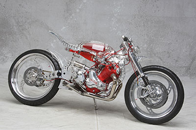 FROM PROPELLERS TO CUSTOM MOTORCYCLES