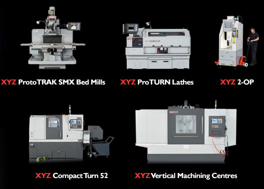 CNC Machines - Sheffield 2017