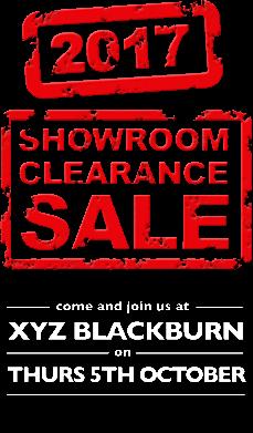 Blackburn Clearance Show